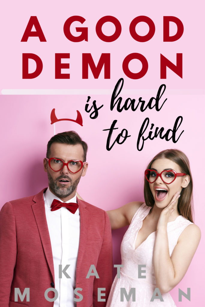 A Good Demon Is Hard to Find book cover by Kate Moseman